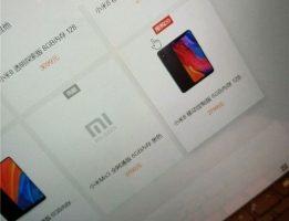 Названа стоимость флагмана Xiaomi Mi Mix 3