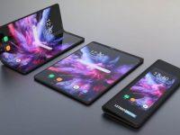 Гибкий смартфон Samsung Galaxy F показали на новом рендере