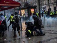 Число задержанных в Париже достигло полутора тысяч