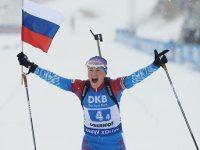 Россиянки выиграли золото в эстафете на этапе Кубка мира в Германии