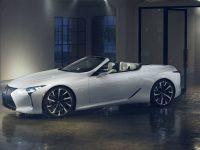 Кабриолет Lexus LC пока лишь концепт… но так было и с купе LC