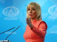 Захарова высмеяла опасения НАТО после выступления Путина
