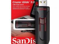 SanDisk Cruzer Glide 3.0 – быстрый накопитель в классическом исполнении