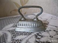 Утюг, как символ советского детства