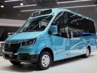 Горьковский автозавод показал новые модели автомобилей
