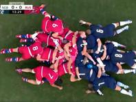 Сборная России потерпела крупнейшее поражение на Кубке мира по регби