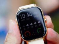 Xiaomi выпустила в России часы Amazfit GTS с дизайном Apple Watch