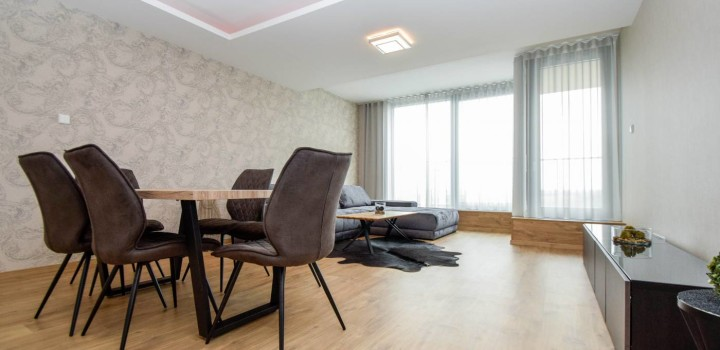 Четырехкомнатная квартира ЛЮКС купить Братислава River Park