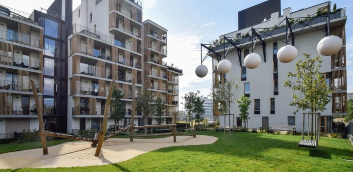 Новая двухкомнатная аренда Братислава Nido